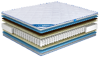 Ортопедический матрас Ultima Sleep Impress Light Cocos 90x190 см 100098, КОД: 1582776