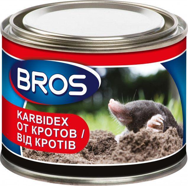 Засіб від кротів Karbidex (Карбідекс) Bros 500г