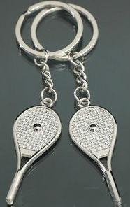 Комплект брелков - Теннисные ракетки, Оригинальные подарки