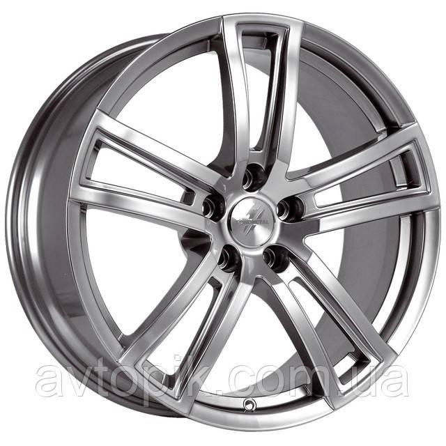 Литые диски Fondmetal Tech 6 R17 W7.5 PCD5x114.3 ET40 DIA71.6 (shiny silver)