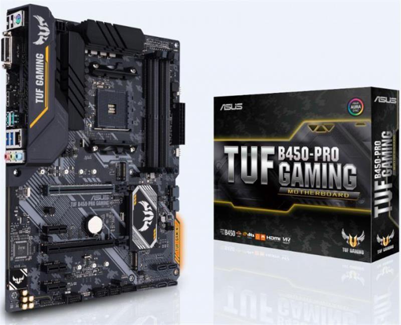 Материнская плата Asus TUF B450-Pro Gaming Socket AM4