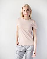 Женская футболка Модерн беж, фото 1