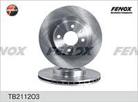FENOX - Гальмівні диски   ВАЗ 2112 (TB2112O3)