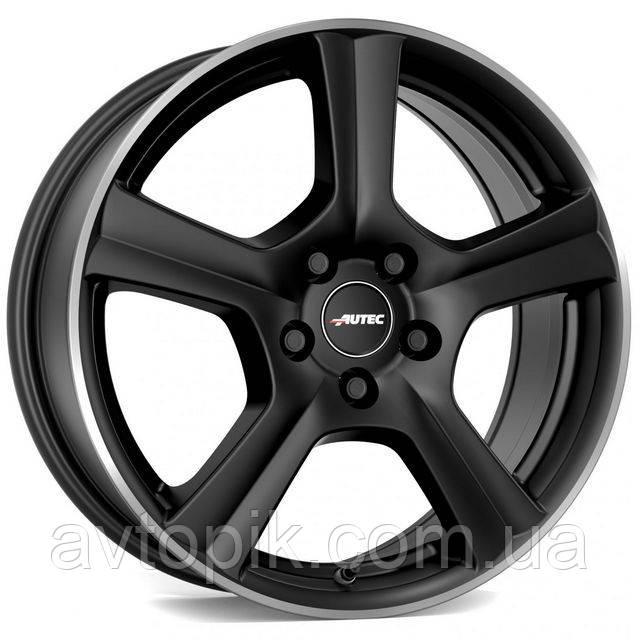 Литые диски Autec Ionik R15 W6 PCD5x112 ET43 DIA57.1 (matt black polished)