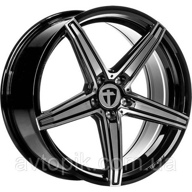 Литые диски Tomason TN20 R18 W8 PCD5x114.3 ET45 DIA72.6 (gloss black)