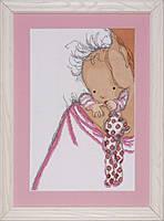 Набор для вышивания крестом Design Works 2720 Baby Hugs