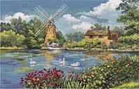 Набор для вышивки крестом Panna ГМ-1701 Голландский мотив