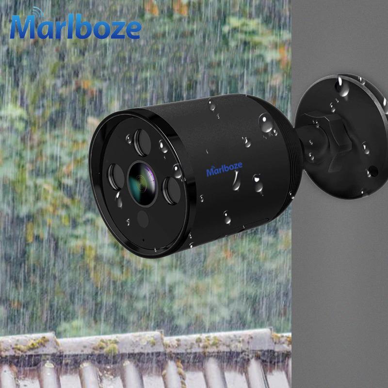 Уличная камера видеонаблюдения Marlboze M-Q1 1080P 2MP WiFi с оптическим зумом 4х, водонепроницаемая