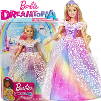 Barbie Кукла Барби Принцесса Королевский бал Дримпопия GFR45 Dreamtopia Royal Ball Princess Блондинка, фото 1