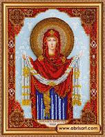 """Набор для вышивания бисером Абрис Арт АВ-305 «Икона """"Покров Пресвятой Богородицы»"""