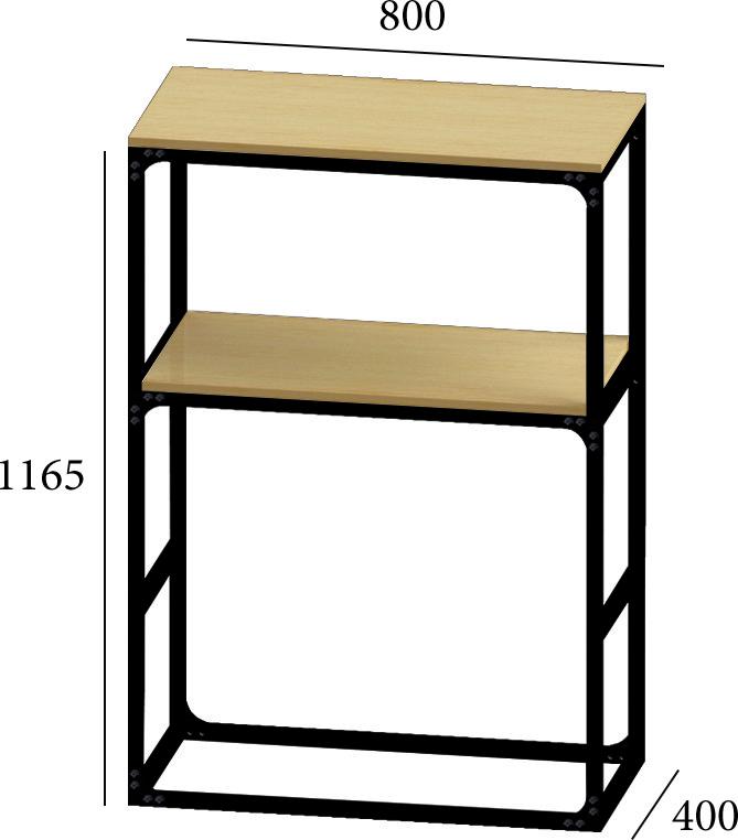 Модуль макси барная стойка 80*40*115 от Металл дизайн
