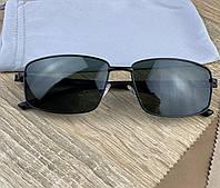 Классические мужские солнцезащитные очки поляризационные