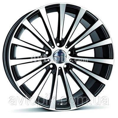Литые диски Borbet BLX R19 W9.5 PCD5x112 ET35 DIA72.5 (brilliant silver)