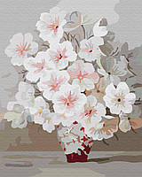 Картина по номерам. Весеннее цветение 40*50см