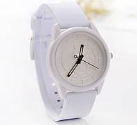 Часы наручные &Q Белые 076-3, наручные часы, женские часы, мужские часы