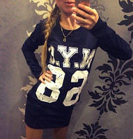 Женское платье спортивного стиля N. Y. C ― 68