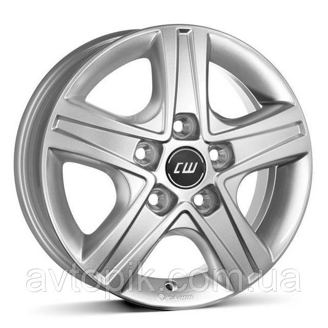 Литые диски Borbet CWD R16 W6 PCD5x130 ET68 DIA78.1 (crystal silver)