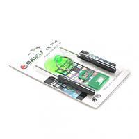 Набор инструментов BAKKU BK7296 для iPhone (Отвертки +1.3 и звезда 0.8 )