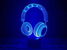 """Дитячий нічник - світильник """"Навушники"""" 3DTOYSLAMP"""