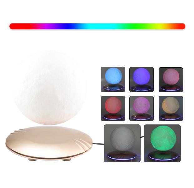 """3D светильник-ночник """"Луна левитационная"""" 3DTOYSLAMP"""