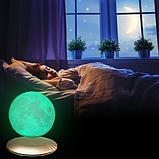 """3D светильник-ночник """"Луна левитационная"""" 3DTOYSLAMP, фото 6"""