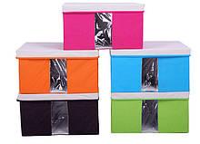 Короб для хранения с крышкой (с окном), Органайзеры, косметички, кофры