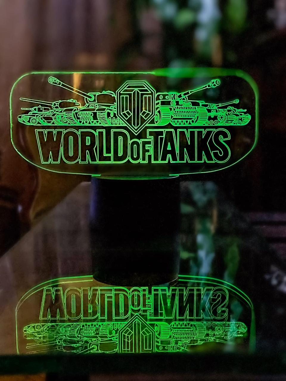 3D светильник 3DTOYSLAMP World Of Tanks