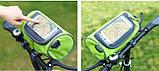 Сумка для путешествий, Велосумка на руль под смартфон (Голубая), Органайзеры, косметички, кофры, фото 4