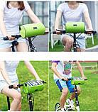 Сумка для путешествий, Велосумка на руль под смартфон (Голубая), Органайзеры, косметички, кофры, фото 5