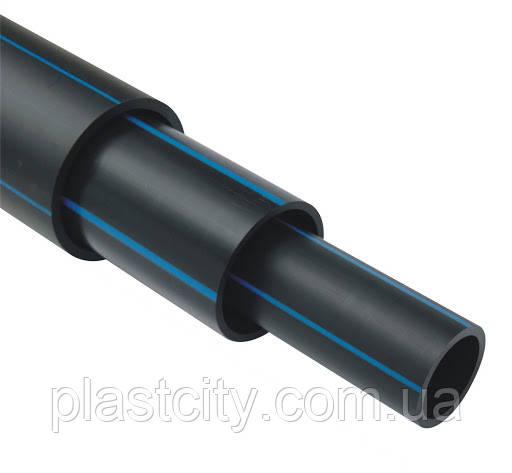 Труба полиэтиленовая 225 мм ПЭ100 SDR 17 напорная
