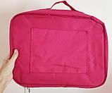 Дорожная сумка органайзер для путешествий с ручкой на чемодан Серая, Органайзеры, косметички, кофры, фото 9