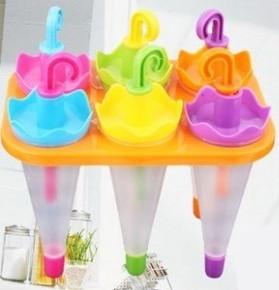 Формочки для мороженого (зонтик, 6 форм), товары для кухни, товары для дома