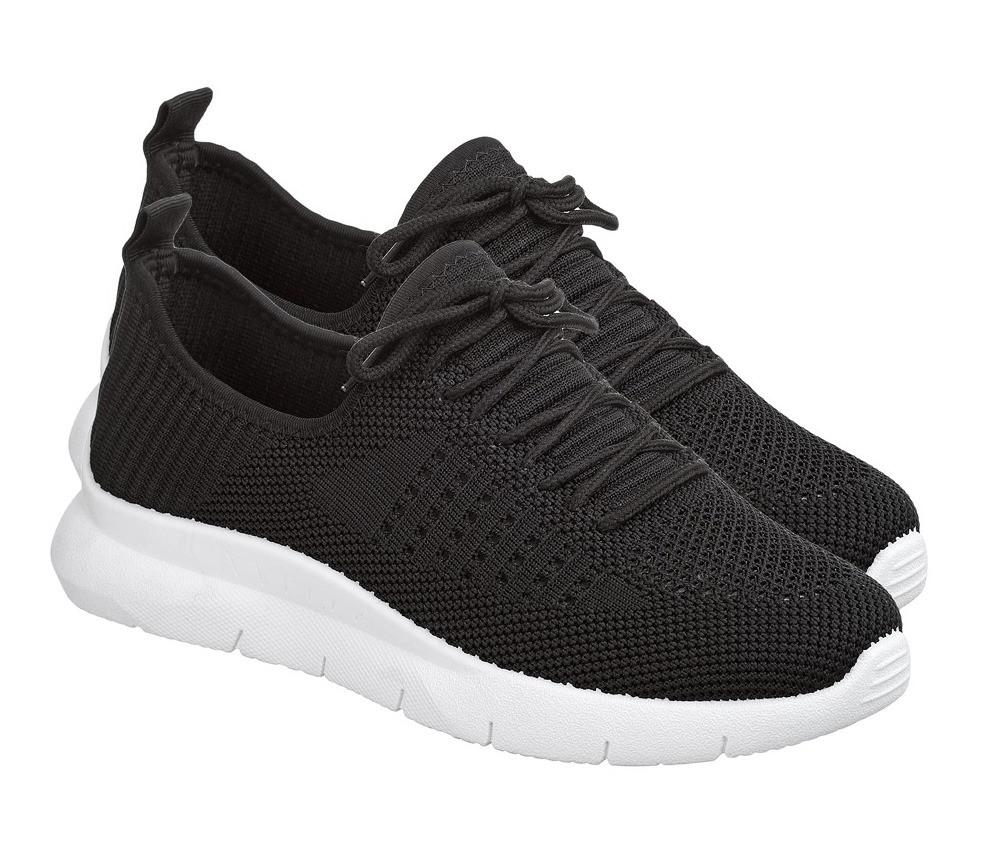 Летние женские кроссовки из черного вентилируемого текстиля GIPANIS 38 р. - 24 см (1202834439)