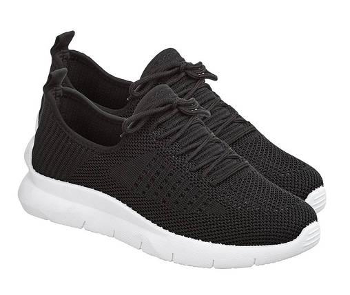 Летние женские кроссовки из черного вентилируемого текстиля GIPANIS 38 р. - 24 см (1202834439), фото 2