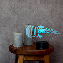 """3D світильник """"Гітара 3"""" 3DTOYSLAMP"""