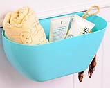 Ведро контейнер навесное на дверцу мебели для мелкого мусора (Салатовое), товары для кухни, товары для дома, фото 3