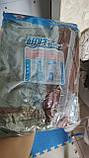 Антимоскитная сетка штора на дверь на магнитах Magic mesh без рисунка (210х90). Серая с каймой, товары для кухни, товары для дома, фото 4