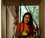 Антимоскитная сетка штора на дверь на магнитах Magic mesh без рисунка (210х90). Сиреневая, товары для кухни, товары для дома, фото 2