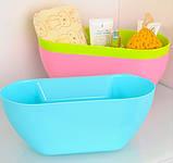 Ведро контейнер навесное на дверцу мебели для мелкого мусора (Розовое), товары для кухни, товары для дома, фото 4