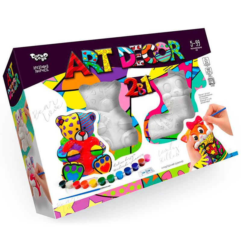 "Набор для креативного творчества из гипса ""ART DECOR"" ARTD-02-01U"