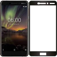 Захисне скло 10D Perfect Protection Full Glue Lion для Nokia 6, Black