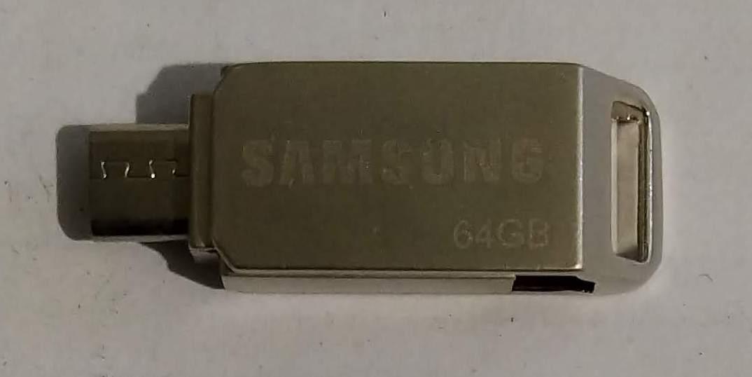 "USB Flash накопичувач(флешка) ""Samsung"" 64Gb + Micro"