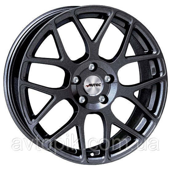 Литые диски Autec Hexano R16 W7 PCD5x114.3 ET40 DIA70.1 (matt black polished)