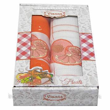 Набор кухонных полотенец Vianna (45x65 - 2 шт) Грейпфрут