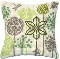 Набор для вышивки подушки Чарівна Мить РТ-174 Полевые травы