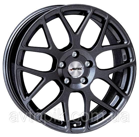 Литые диски Autec Hexano R16 W7 PCD5x115 ET40 DIA70.2 (matt black polished)