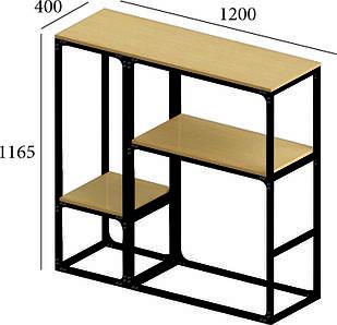 Модуль комплект барная стойка 120*40*115 от Металл дизайн с доставкой