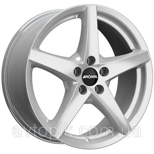 Литі диски Ronal R41 R17 W8 PCD5x112 ET35 DIA76 (silver)