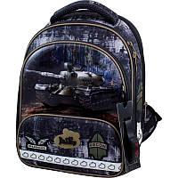 Рюкзак школьный каркасный Delune с наполнением, для мальчиков (9-128)