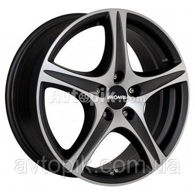 Литые диски Ronal R56 R18 W8 PCD5x105 ET40 DIA56.6 (crystal silver)